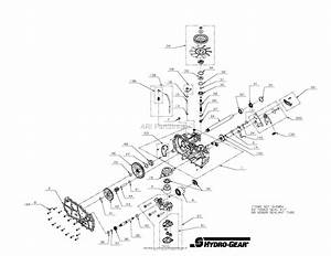 Gravely 915172  000101 - 015999  Ztx 42 Parts Diagram For Transmission  Lh