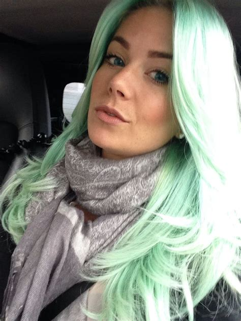17 Best Ideas About Mint Hair Color On Pinterest Mint