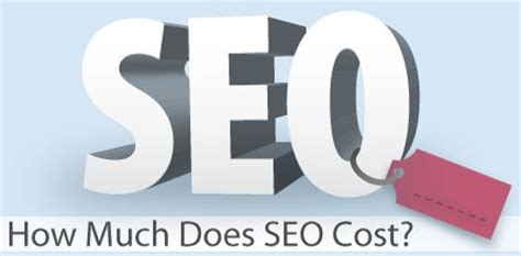 Seo Cost by Infographic How Much Does Seo Cost