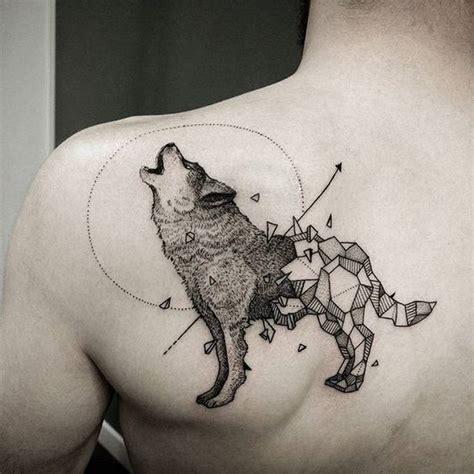 Astonishing Geometric Wolf Tattoos Amazing Tattoo Ideas