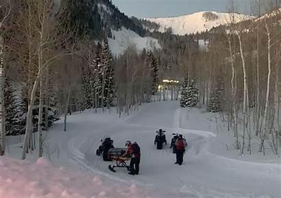 Skier Avalanche Utah Park Missing Fire Resumed