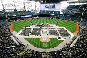Grads All Score At Safeco Field Commencement