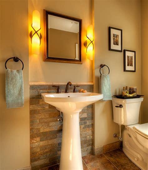 Half Bathroom Ideas With Pedestal Sink by Best 25 Powder Room Design Ideas On Modern