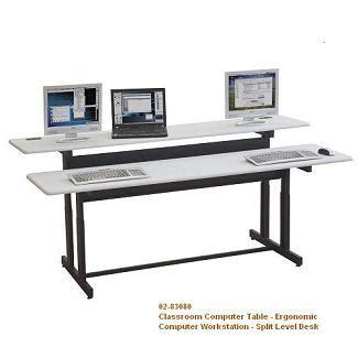 multi computer desk multi computer desk workstation classroom computer desk