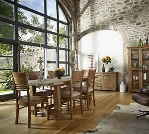 chaise de salle a manger en style industriel With salle À manger contemporaineavec chaise salle a manger bois