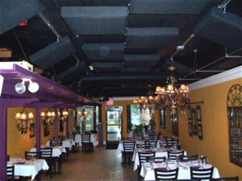 reducing restaurant noise  acoustic panels ats acoustics