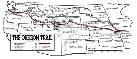 click  view  oregon trail map