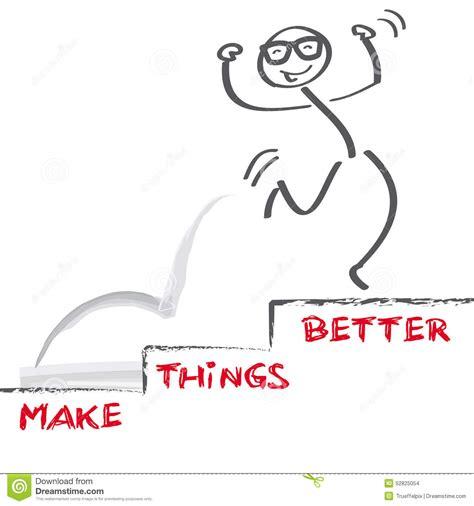 Make Things Better Stock Illustration Image 52825054