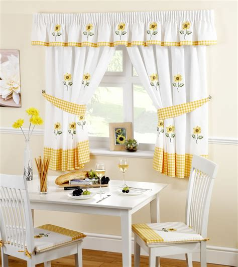 Kitchen Drapes And Curtains - kitchen curtains ready made curtain panels many designs