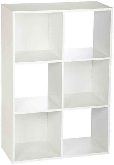 cube shelf organizer closet 8996 cubeicals 6 cube organizer in white review