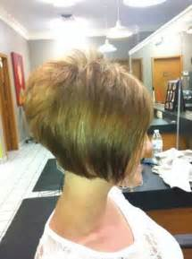 Short Hairstyles Stacked Bob Haircut