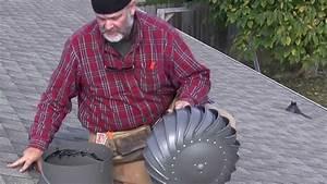 How To Install A Lomanco Whirlybird U00ae Turbine Vent