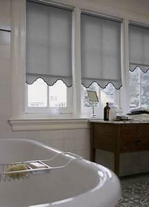 Rollo Mit Volant : badezimmer mit sichtschutz dekofactory ~ Whattoseeinmadrid.com Haus und Dekorationen