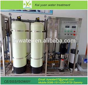1 Ton Per Hour Water Treatment Ro And Uf Water System For