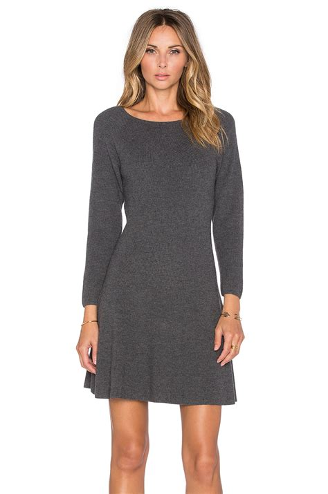 gray sweater dress joie didiere sweater dress in gray lyst