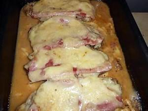 Cotes De Porc Au Four : recette de cote de porc au jambon fromage ~ Farleysfitness.com Idées de Décoration