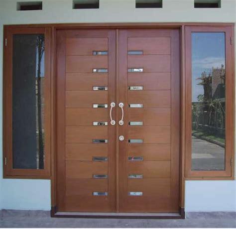 contoh pintu minimalis elegant rumah