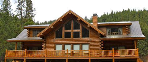 treasure mountain log lodge meadowlark log homes