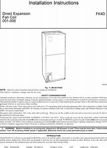 Carrier Air Handler  Indoor Blower U0026evap  Manual L0703129