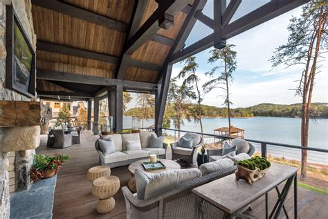 Lakeside Summer Home by Summer Escape Inside Three Beautiful Southern Lake Houses