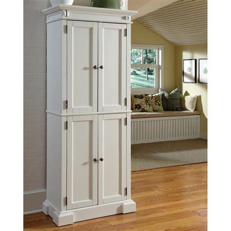 Tall Wood Kitchen Pantry Cabinet Linen Storage Bathroom