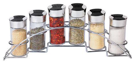 Contemporary Spice Rack by 6 Spice Rack Set Half Moon Contemporary Spice