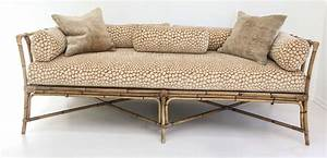 vintage bamboo daybed sofa image 2 With bamboo sofa bed