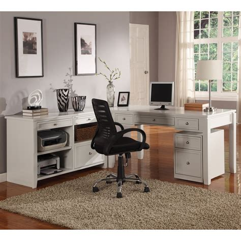 l shaped desk with credenza house boca l shaped desk with credenza cottage