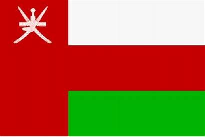 Oman Flagge Flaggen Bandera Fahnen Flag Flaga