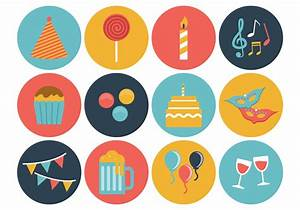 Free Birthday Icons Vector - Download Free Vector Art ...