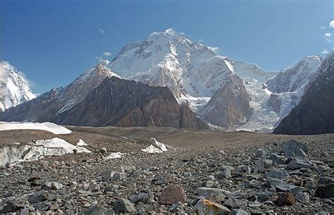 Broad Peak (pakistan) World's 12th Highest Mountain
