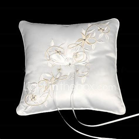 tale dreams square satin wedding ring bearer pillow 260392 2016 11 99