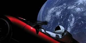 Tesla Dans Lespace : tesla roadster et starman un site suit leur p riple dans l espace ~ Nature-et-papiers.com Idées de Décoration