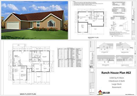 plans plan custom home design autocad dwg  building