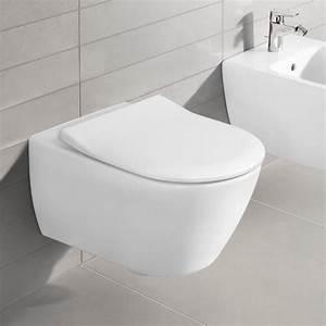 Villeroy Und Boch Wand Wc : villeroy boch subway 2 0 wand tiefsp l wc offener sp lrand directflush wei mit ceramicplus ~ Buech-reservation.com Haus und Dekorationen