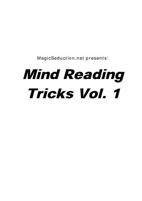 Derren Brown - Style - Mind Reading Tricks Volume 1 by