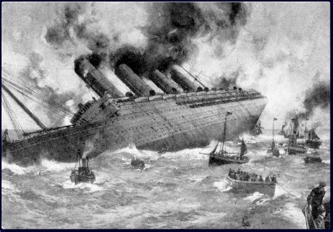 Where In Ireland Did The Lusitania Sink by Sinking Of The Lusitania S