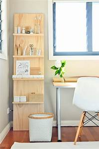 a dozen creative ways to make your own shelves brit co With ideas to build interesting wood shelving units