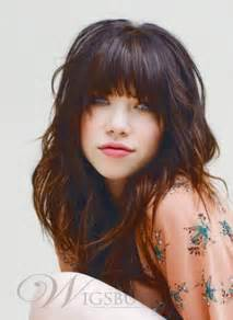 Hairstyles for Straight Hair with Bangs