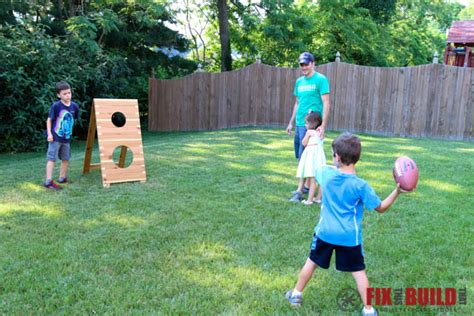 diy football toss game fixthisbuildthat