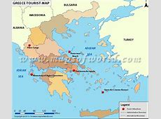 Greece Travel Map, Map of Greece