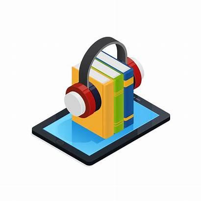 Audio Books Clipart Isometric Vector Icon Vecteezy