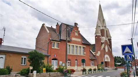 photo 224 fresnes l 232 s montauban 62490 la mairie et l 233 glise fresnes l 232 s montauban 210968