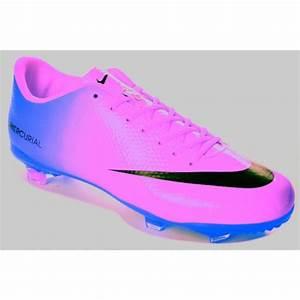 Shoes: mericural, soccer shoes, nike, blue shoes, purple ...