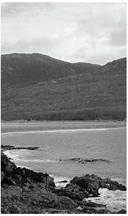 Inishowen Coastline bw Donegal Photograph by Eddie Barron