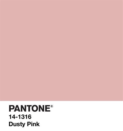 dusty pink colors me in 2018 pantone