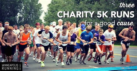 3 Charity 5k Runs In The Twin Cities