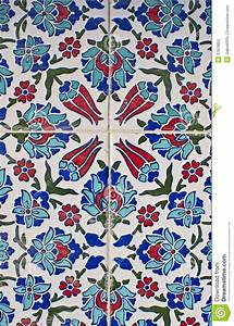 Turkish tile pattern stock photo. Image of mosque ...