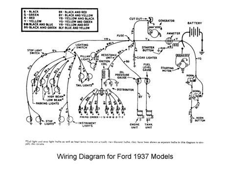 1949 Ford Turn Signal Wiring Diagram by Flathead Electrical Wiring Diagrams
