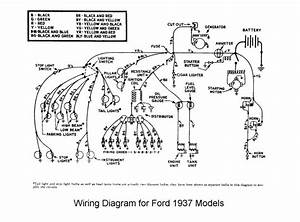 1937 Commercial Pickup Wiring Issue